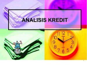 Pelatihan Analisa Kredit