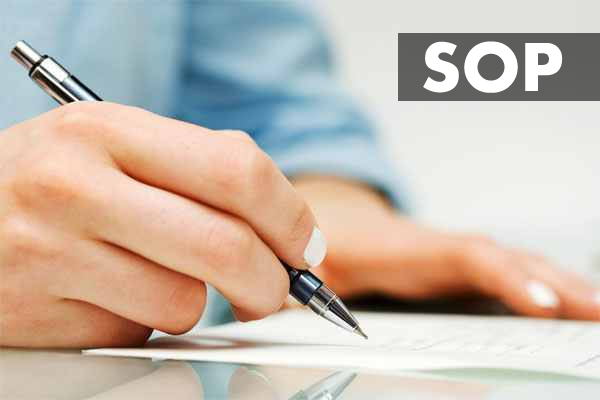 Advance SOP Writing
